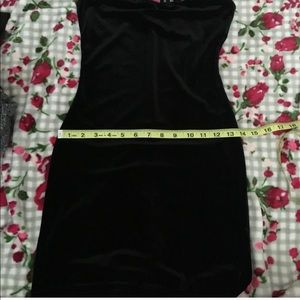H&M Dresses - Tight velvet dress PRICE IS FIRM